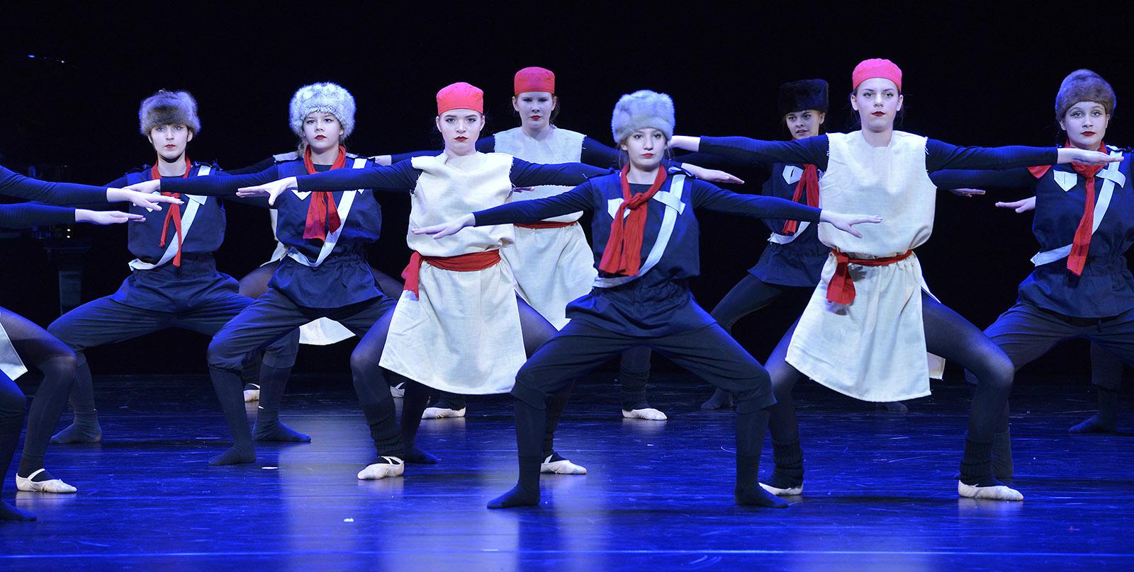 Prokofjew rote weisse armee Ballettschule Heeg