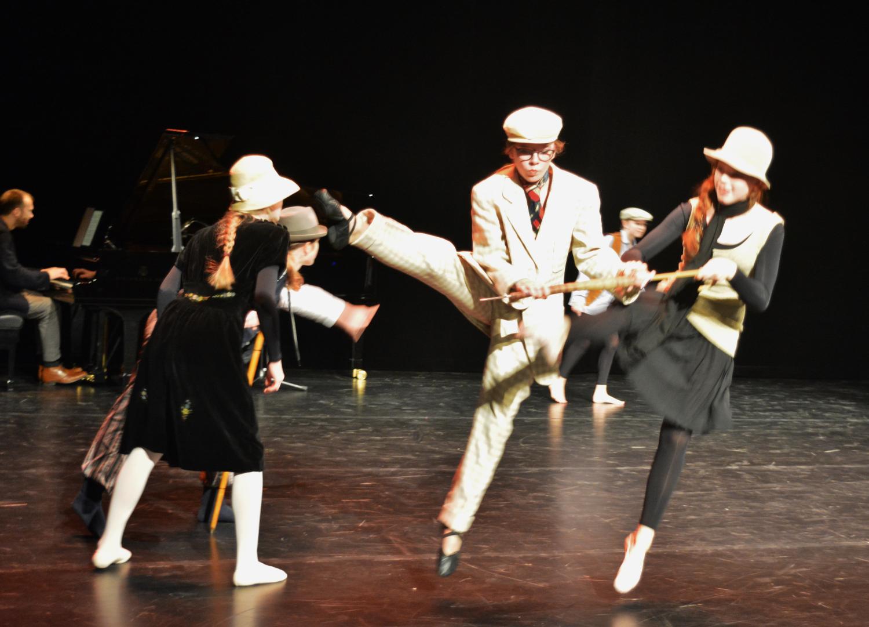 Prokofjew Amerikaner tanzend Ballettschule Heeg