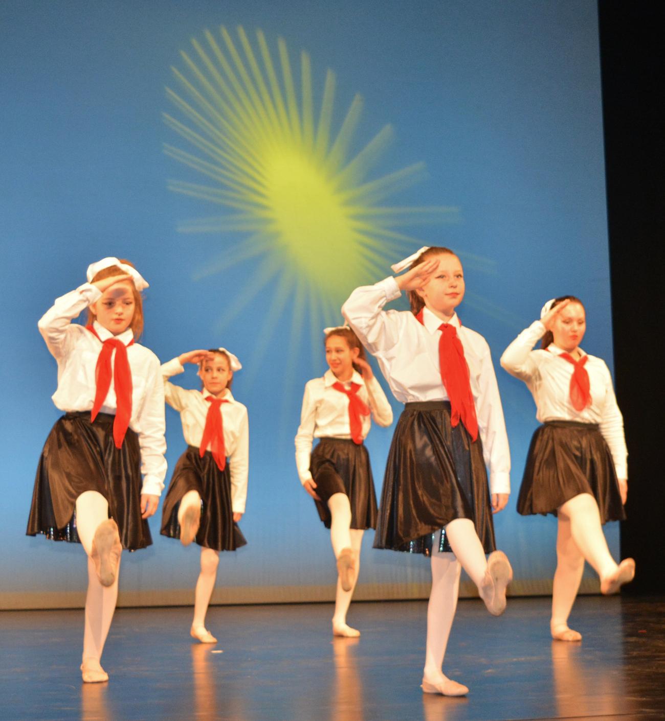 Prokofjew Pioniermaedchen Ballett Heeg