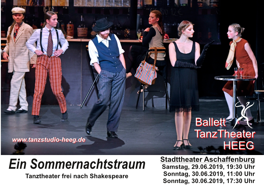 2019 Plakat Sommernachtstraum